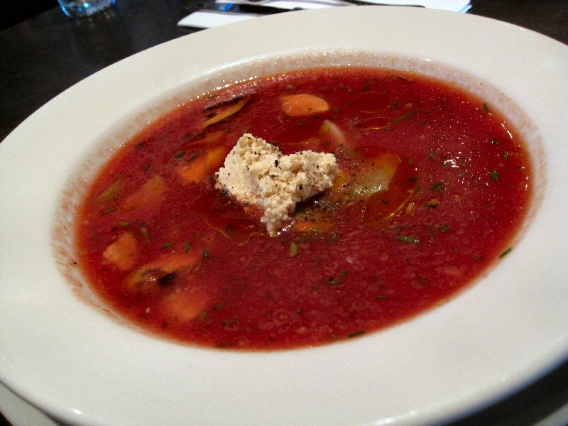Rosso gazpacho