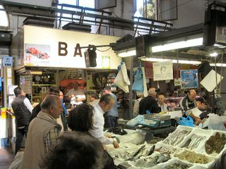 Civitavecchia market