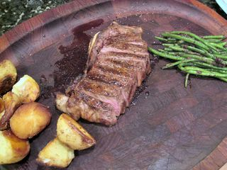 Corrados steak dinner