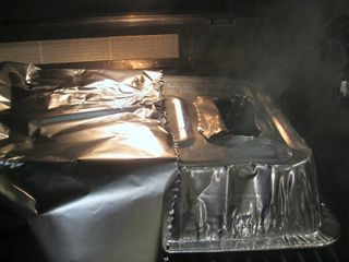 Brisket hood smoke1