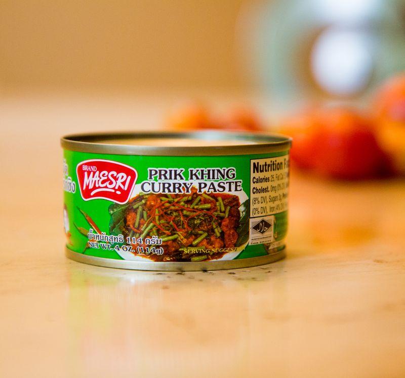 Prik-khing-curry