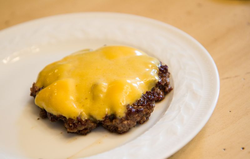Burger-and-cheese