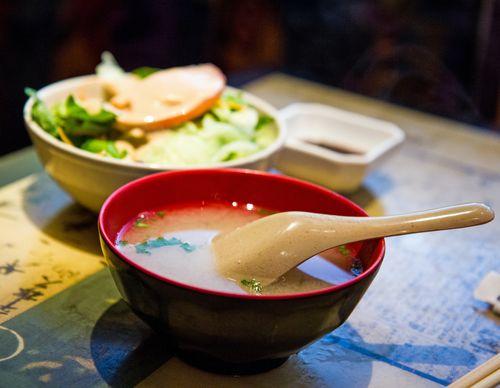 Kumo-soup-salad