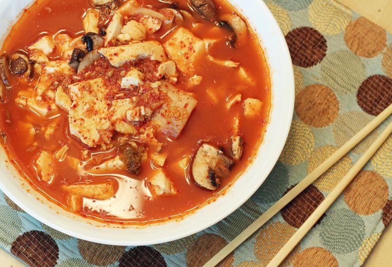 Tofuhouse tofu stew2