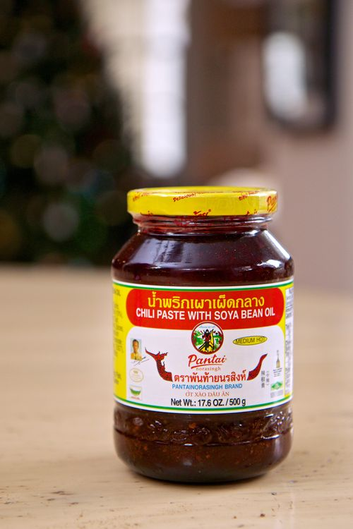 Nam prik pao thai chili paste 001