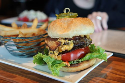 The Blue Point burger