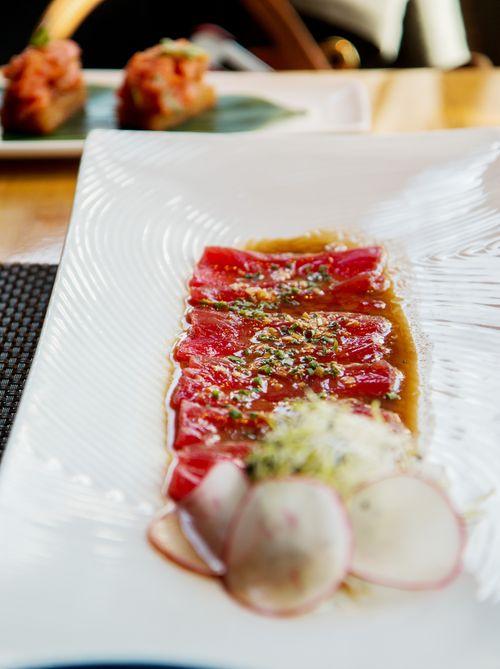 Tuna sushi roku