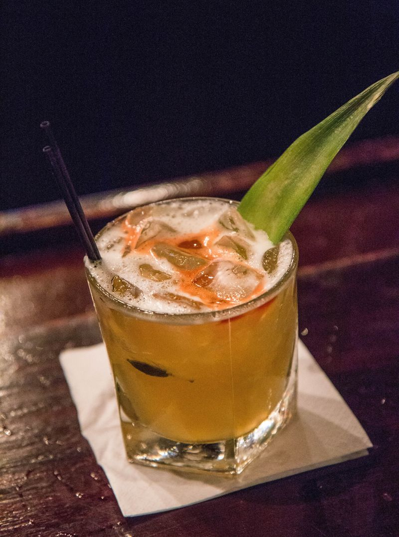 Chakra rum cocktail
