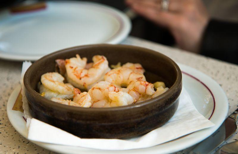 Los cachitos shrimp