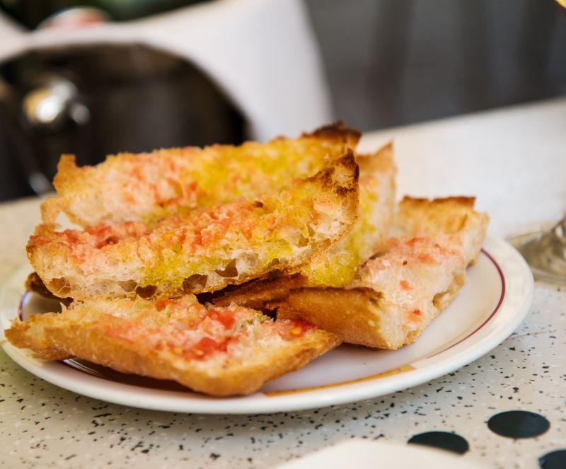 Los cachitos catalan toast