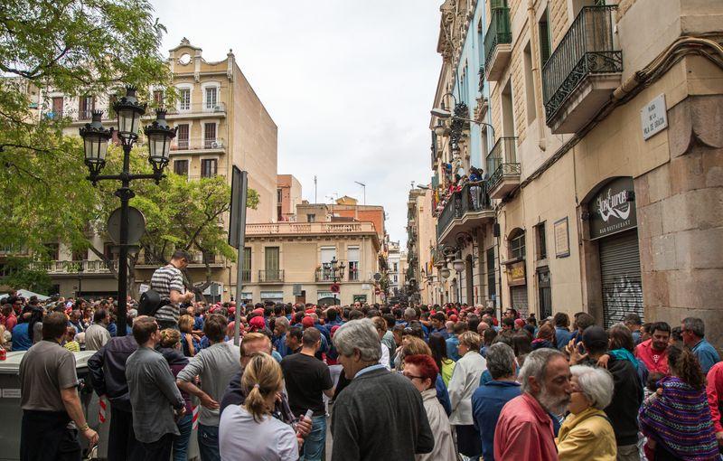 Castellers crowd1