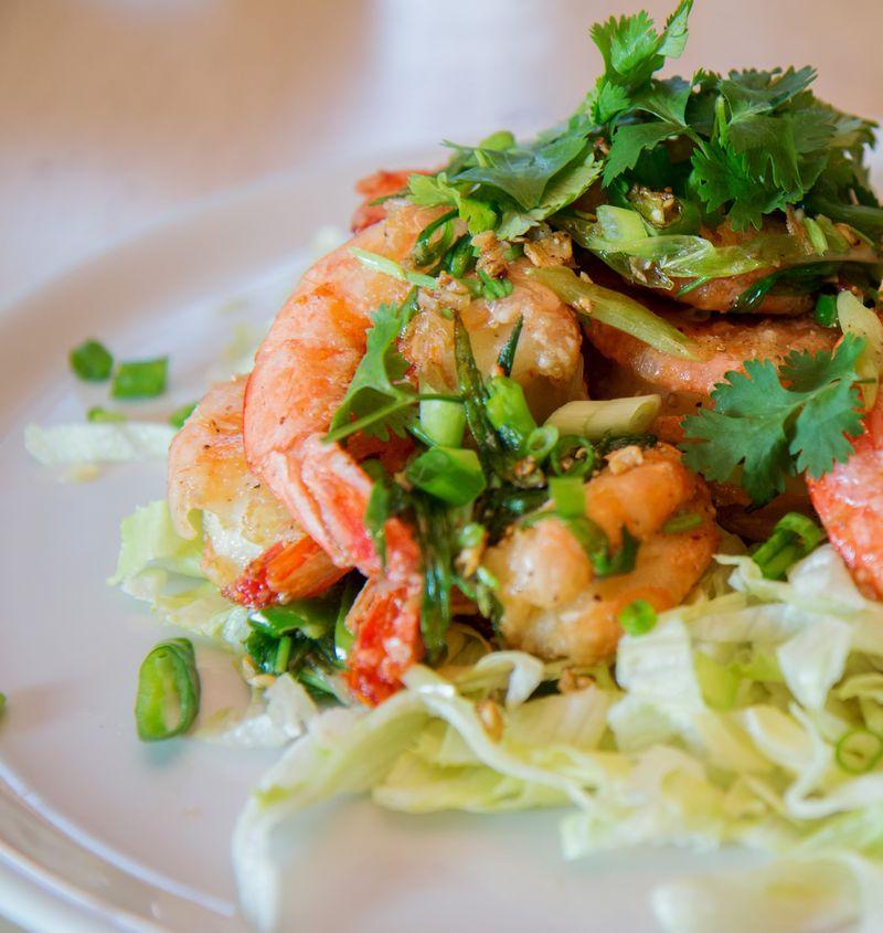 Salt and pepper shrimp chinese