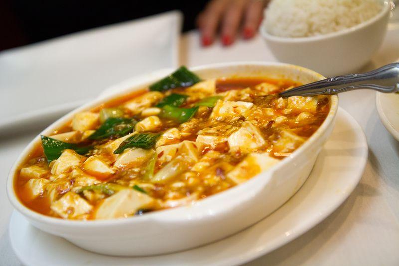 Mapo tofu new shanghai