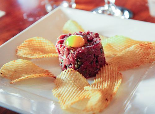 Tuna tartar fathers office