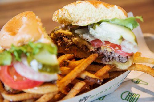 Shake shack burger2