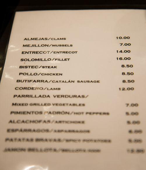 Bar clemens menu2