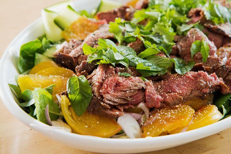 Thai beef salad2