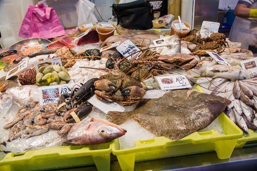 Mercat del nino fish