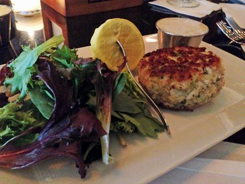 Roots crabcake