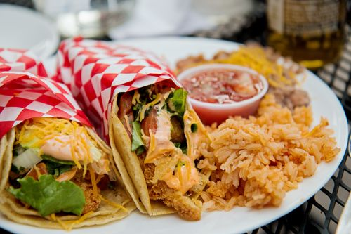 Southwest Diner Fish tacos