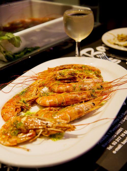 Shrimp bar clemens