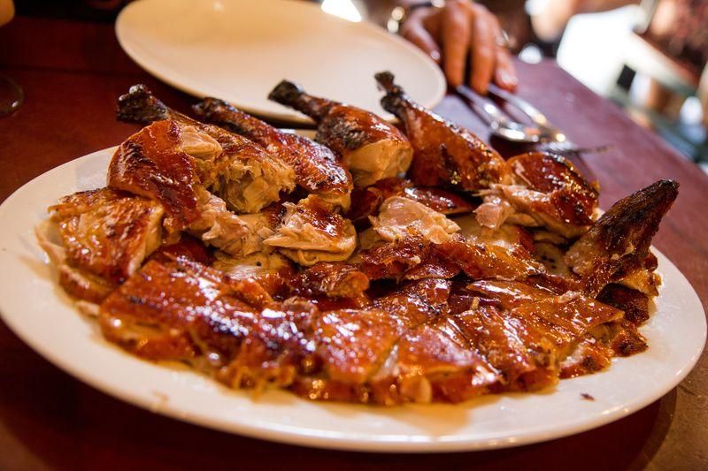 Sun wah duck platter