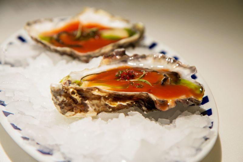 Rias de galicia oysters