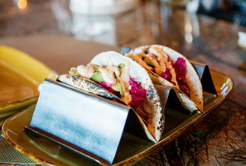 Mill house brewery fish tacos