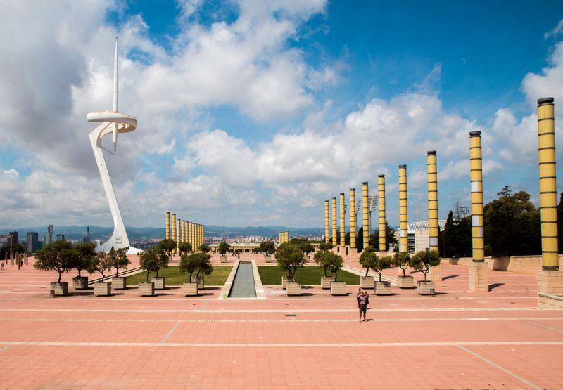 Barcelona olympic park4