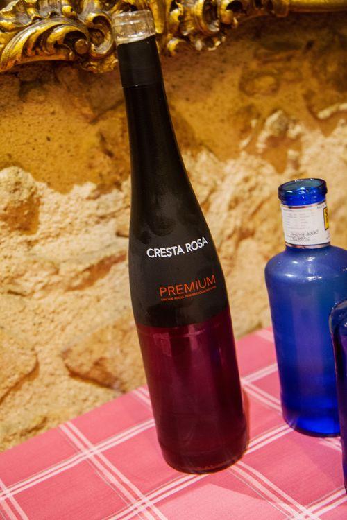 Cresta rose vino de aguja