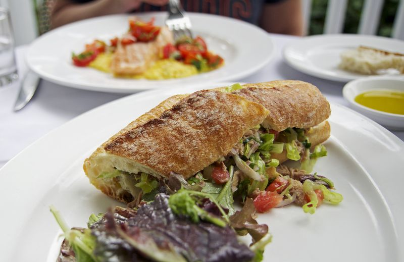 Cucina woodstock tuna sandwich