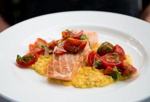 Salmon cucina woodstock