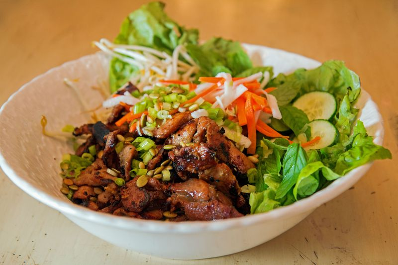 Vietnamese grilled pork