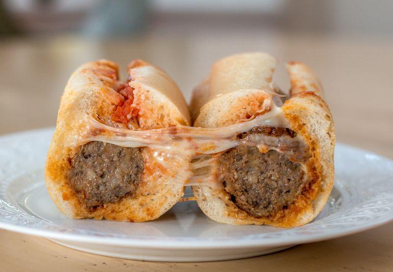 Boagies hoagies meatball parm
