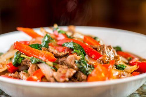 Thai beef basil chili2