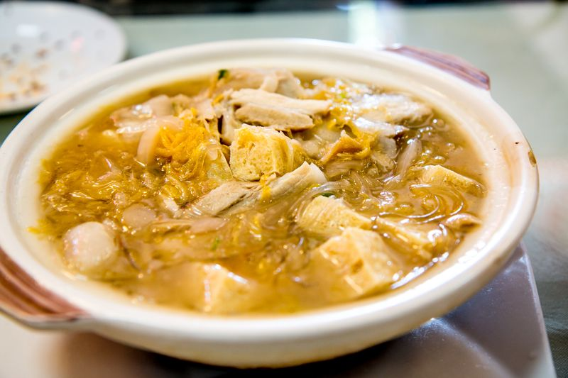 Lao dong bei tofu sour cabbage2
