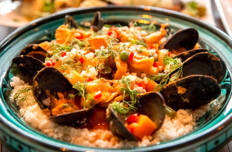 Novo seafood cousous