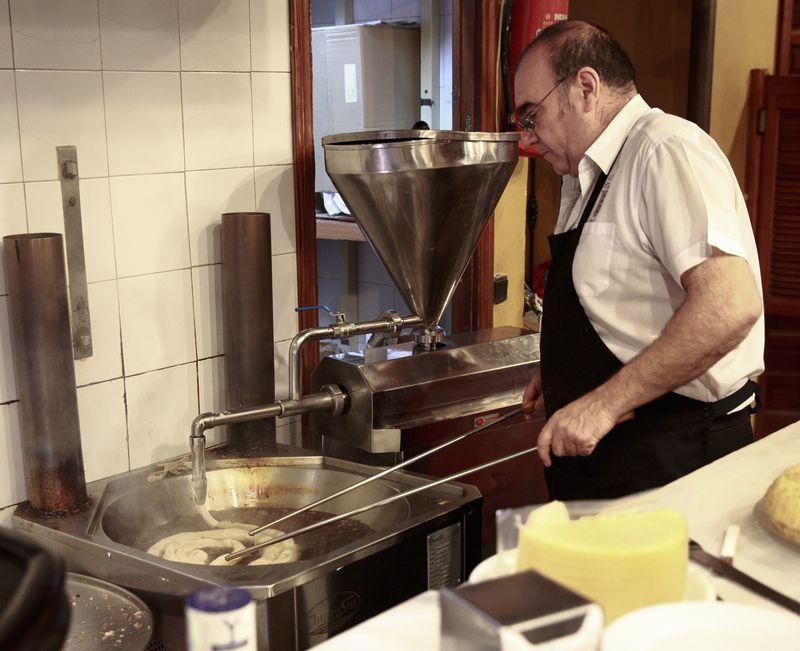 Sevilla bar el comercio churros1