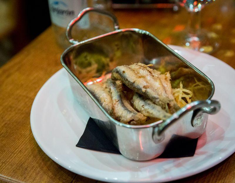 Sevilla bar pelayo anchovies