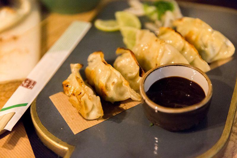 Sevilla el pinton dumplings