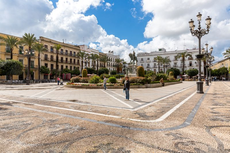 Jerez spain plaza