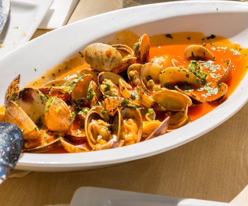 Jerez spain restaurante albores clams2