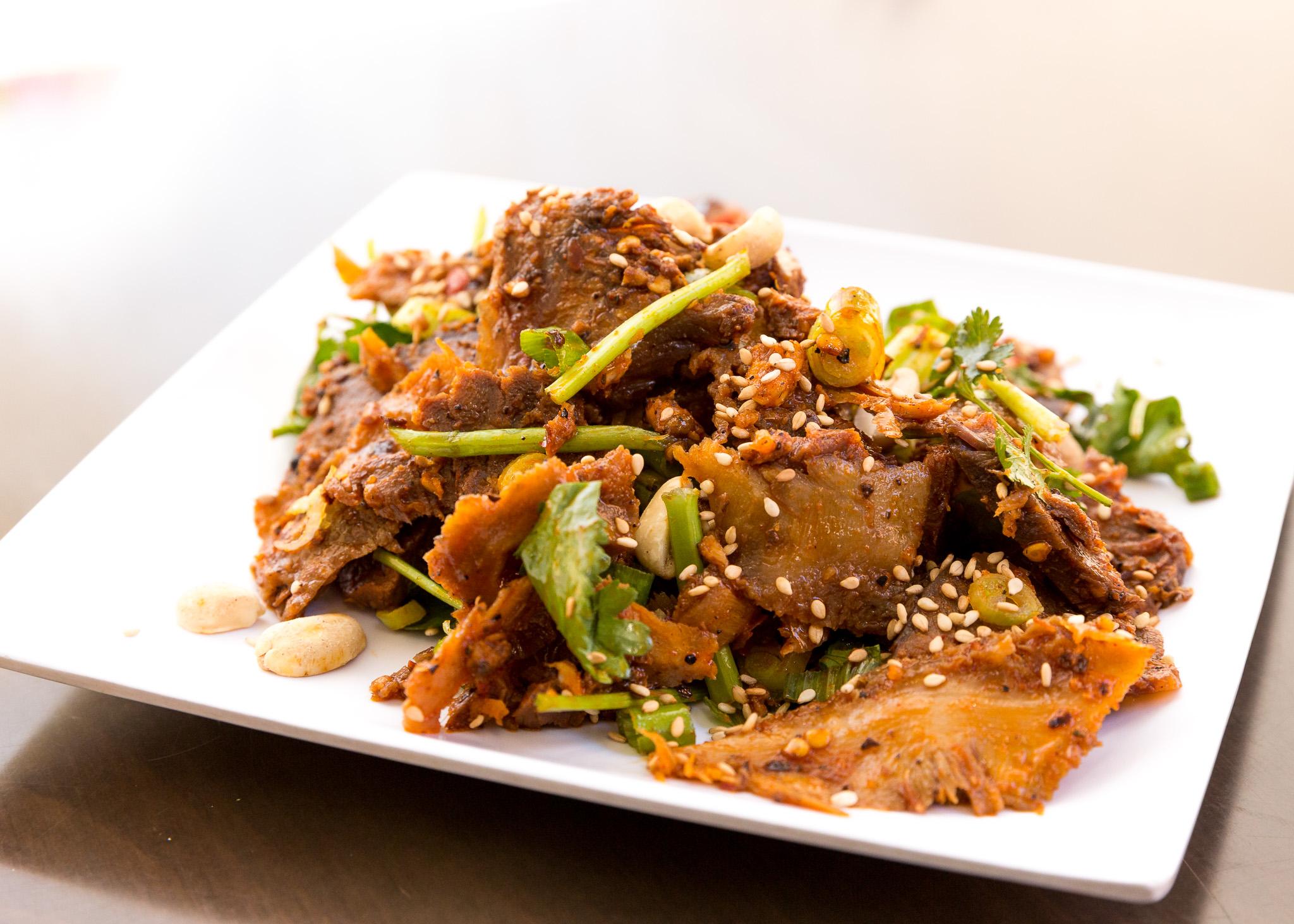 Shanghai Restaurant beef tripe