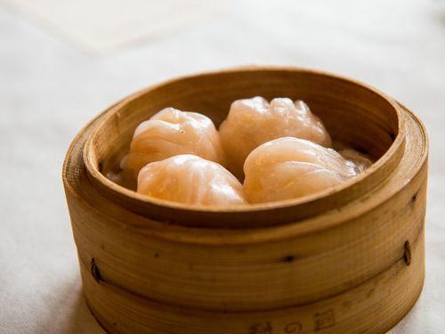 Dim sum villa shrimp dumpling