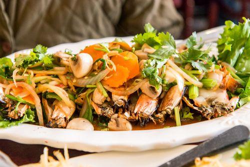 Adaya thai shrimp