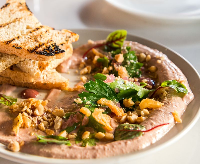 Aldine chicken liver mousse