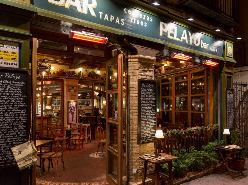 Sevilla bar pelayo exterior