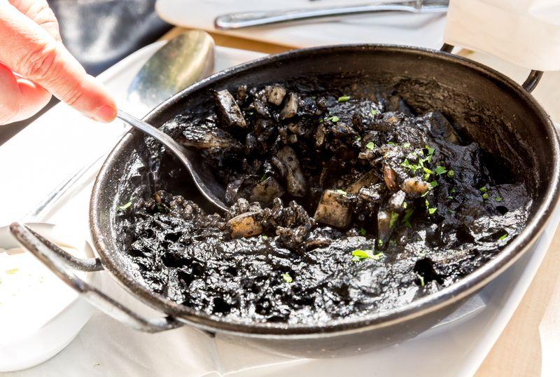 Jerez spain restaurante albores black rick