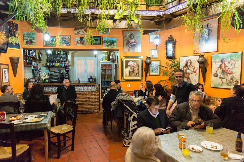 Jerez spain La taberna del Segura interior1