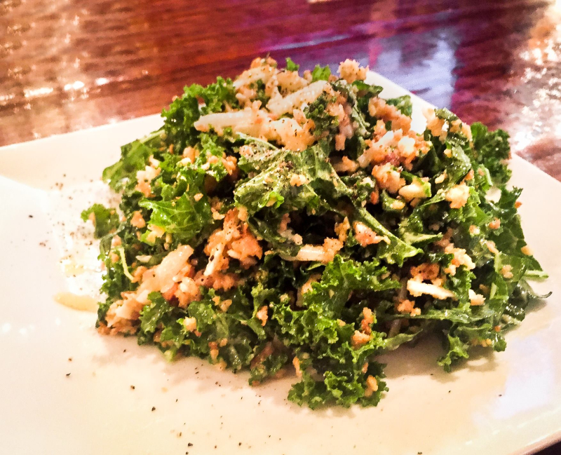 Craft House kale salad